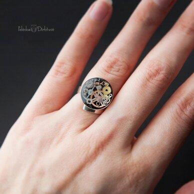 """Žiedas """"Laiko Metamorfozės"""""""