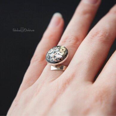"""Žiedas """"Laiko Metamorfozės"""" 4"""